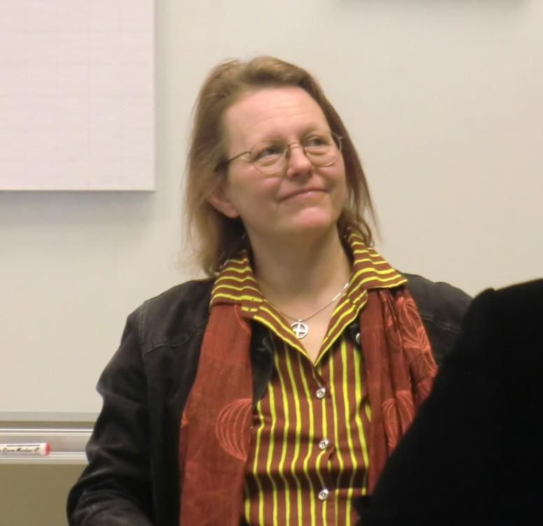 Teologian tohtori Sini Hulmi. (Kuva/Photo: Hellevi Matihalti)
