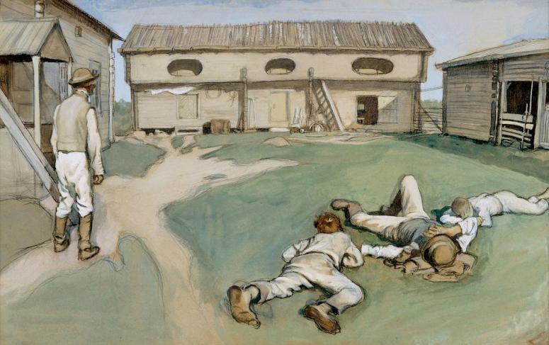 Eero Järnefelt: Isäntä ja rengit, 1893. (Kuva/photo: Turun taidemuseo)