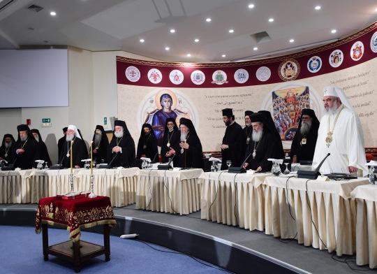 Suuren Synodin virallinen avajaisistunto. (KUVA/PHOTO:© Dimitrios Panagos)