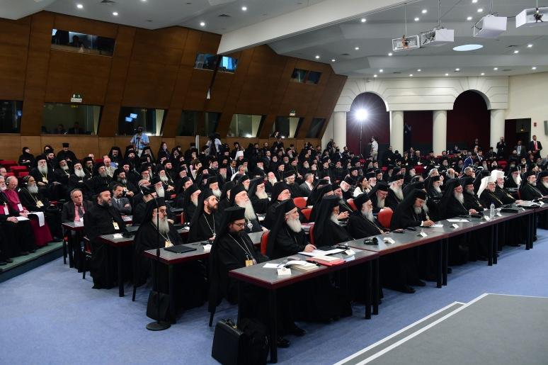 Synodin avajaisistunnosta. (KUVA/PHOTO:© Dimitrios Panagos)