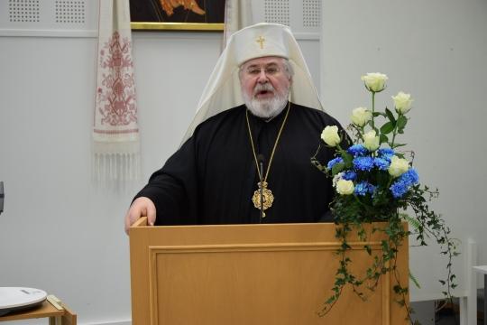 Arkkipiispa Leo. (Kuva/photo: Aristarkos Sirviö)