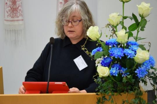 Kirkolliskokousedustaja Soili Penttonen. (Kuva/photo: Aristarkos Sirviö)