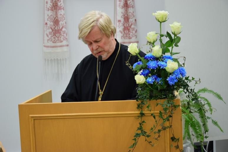 Helsingin metropoliitta Ambrosius. (Kuva/photo: Aristarkos Sirviö)