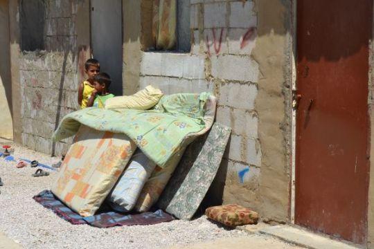 Lapsia Kab Elias -pakolaisleirillä Libanonin Bekanlaaksossa. IOCC tukee leirin toimintaa. (Kuva/Photo: IOCC)