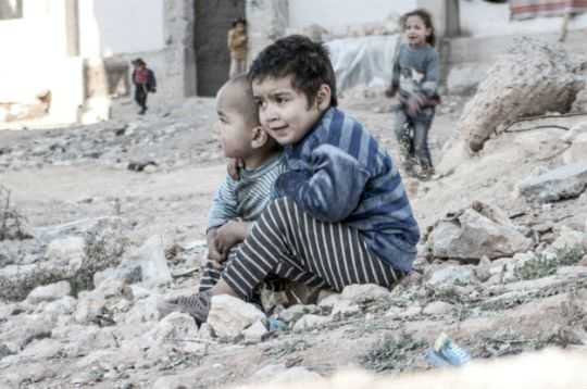 Uutiskuvat Syyrian Alepposta ovat lohduttomia …. (Kuva/photo: UN Multimedia )