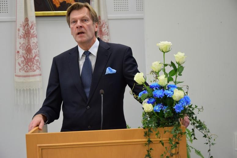 Kirkolliskokousedustaja Veikko Halonen. (kuva/photo: Aristarkos Sirviö)