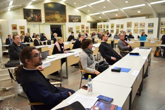 Kirkolliskokouksen täysistunto 2016. (Kuva/photo: Aristarkos Sirviö)