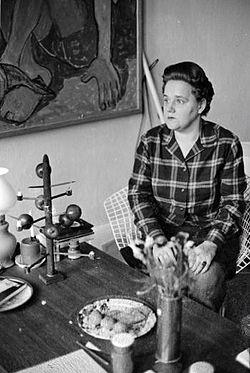 Eeva-Liisa Manner vuonna 1963. (Kuva/photo: wikipedia )