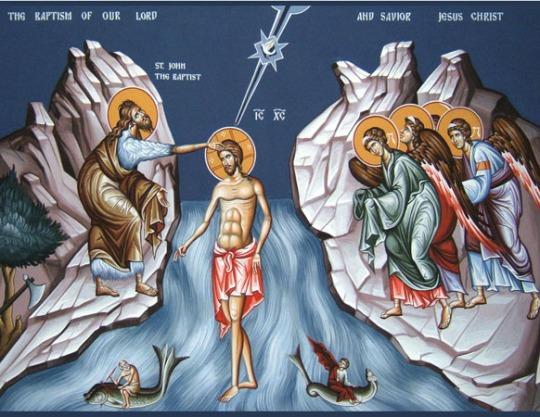 Teofanian ikoni. (Kuva/Photo:Orthodox.net)