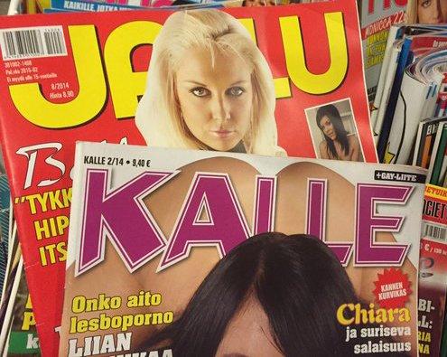 Kuva ei liity juttuun ....pitsi, että Jallu ja Kalle ovat saattaneet kyseessä oleviin lehtiin tutustua - erehdyksessä. (Kuva/photo: pinterest.com)