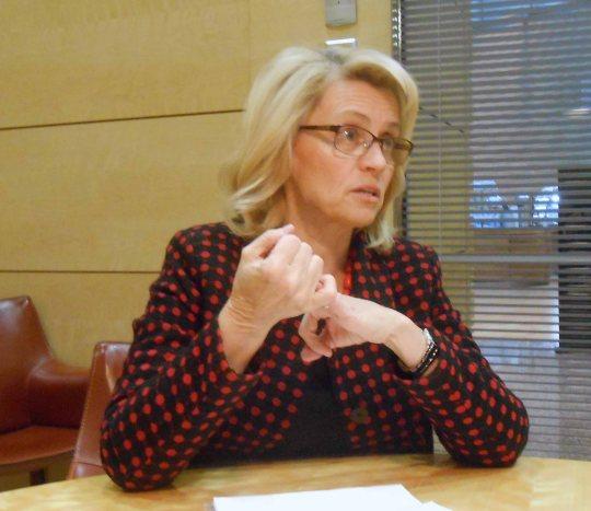 Kansanedustaja Päivi Räsänen (Kuva/photo: Aristarkos Sirviö)