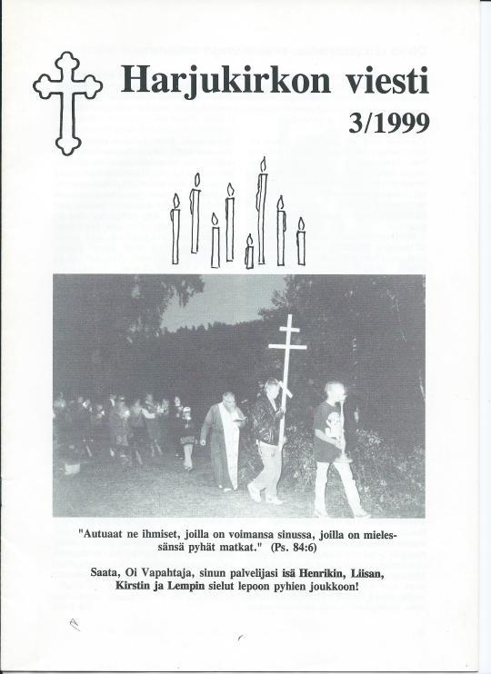 Lehden numero 3/1999.