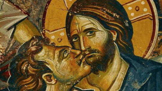 Juudas kavaltaa Kristuksen